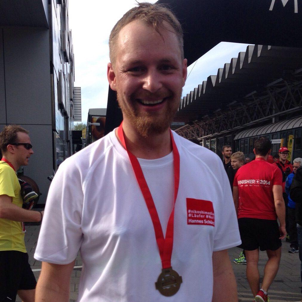 Hannes Schürz läuft in Luzern