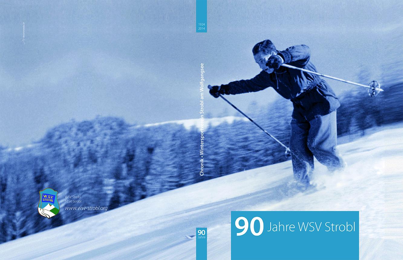 Cover der Chronik: 90 Jahre WSV Strobl