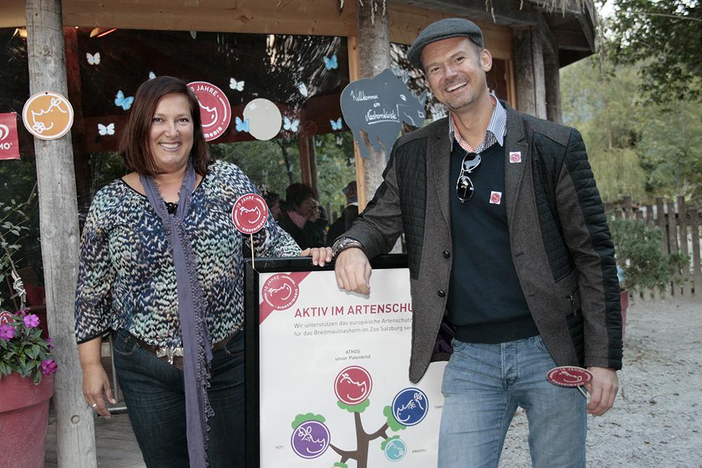 Claudia Kanz & Nicolas Sturm unterstützen das Artenschutzprogramm