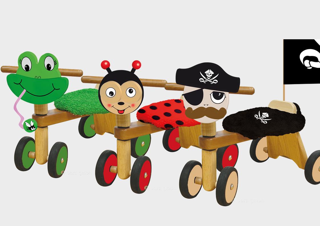 Cleoco Spielzeug Design: Rutscher