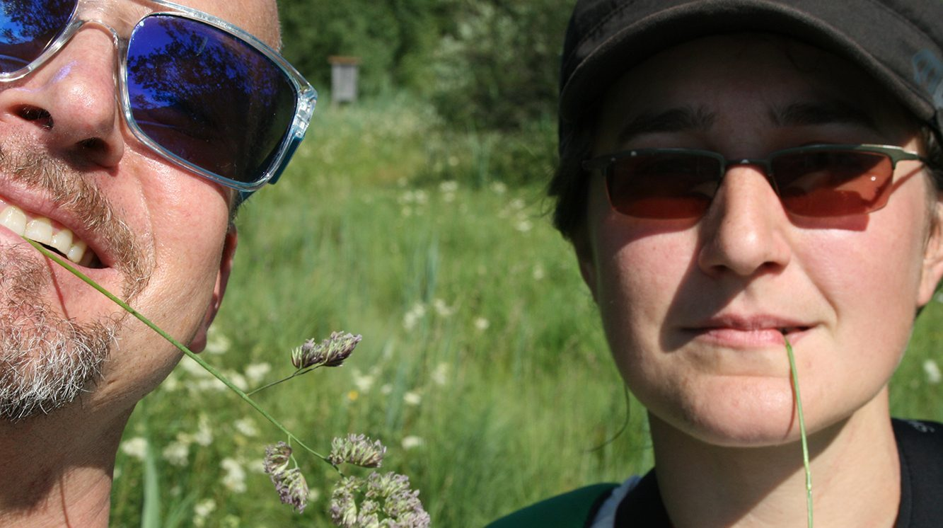 Selfie mit Elisabeth Ortner