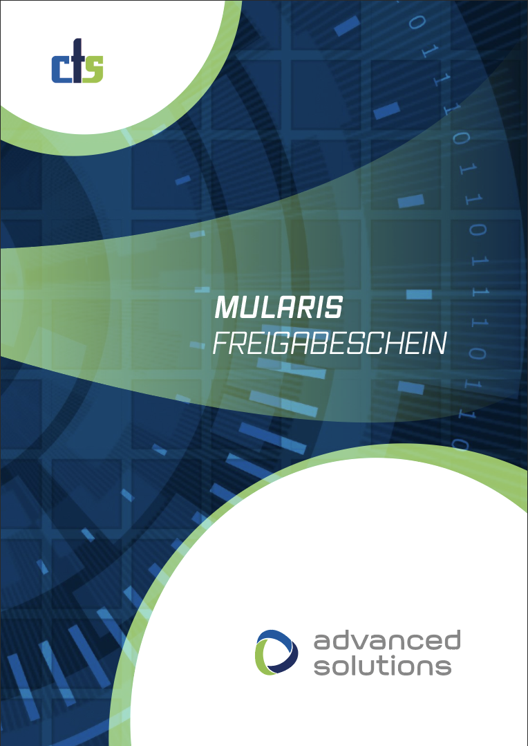 Produktfolder cts - MULARIS FREIGABESCHEIN